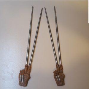 Other - Freddy Kruger horror chopsticks